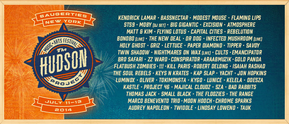 hudson_project_lineup