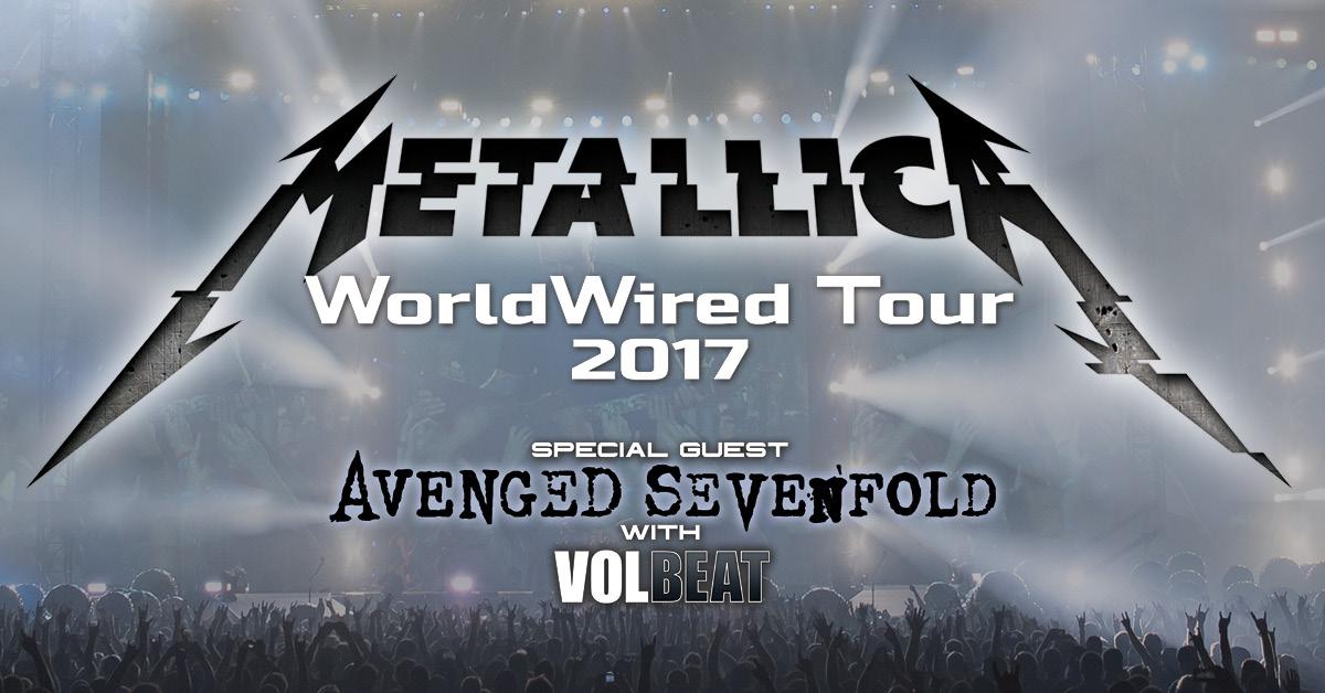 Metallica - WorldWired Tour Enhanced Experiences