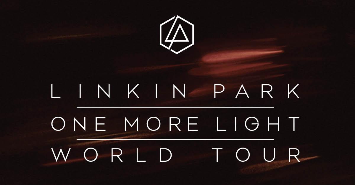 Linkin Park One More Light World Tour July