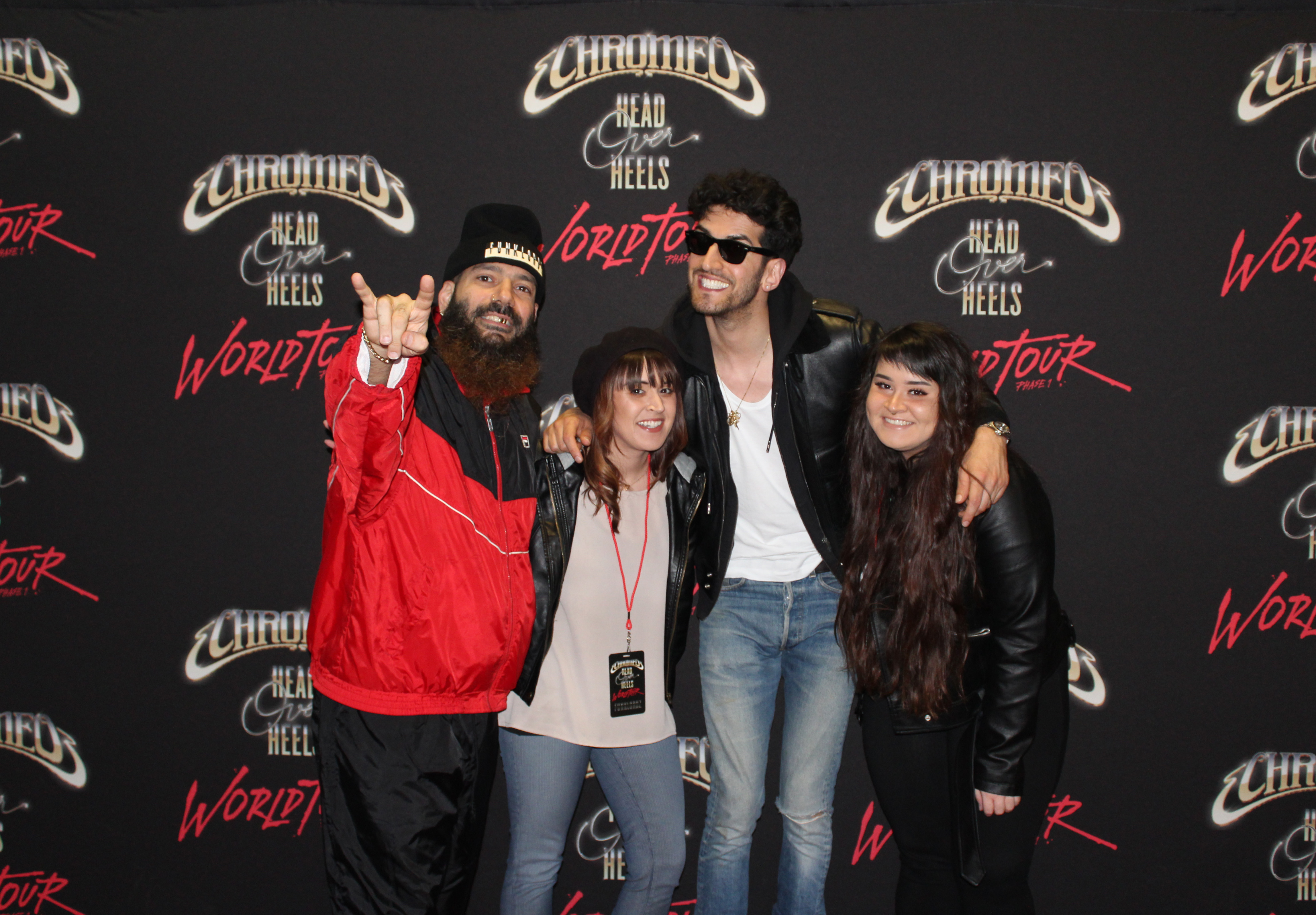 Chromeo head over heels tour official vip packages cid entertainment one 1 general admission chromeo m4hsunfo