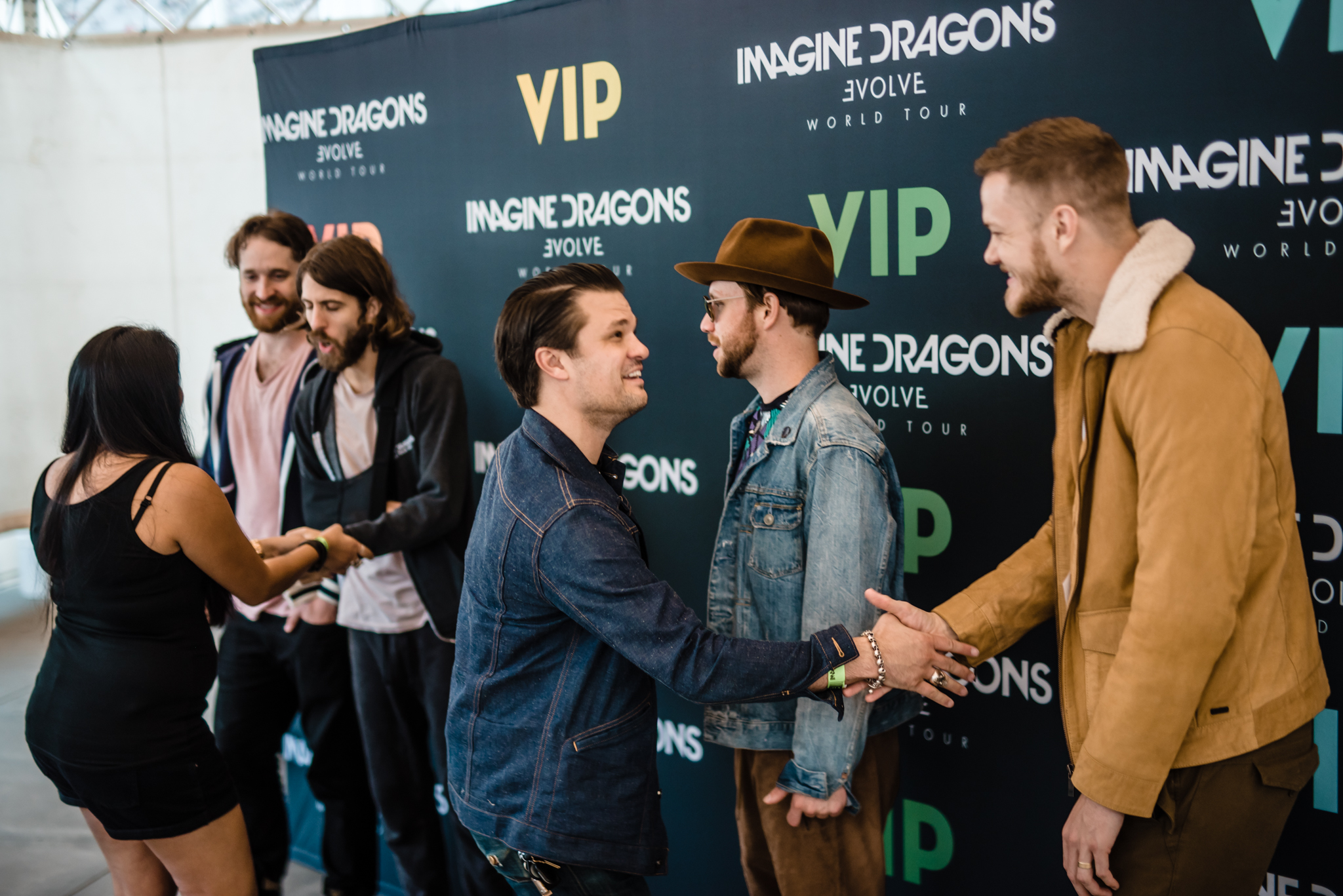Imagine dragons tour vip tickets one 1 premium reserved seat in the first 5 rows or one 1 general admission pit ticket with early entry to see imagine dragons live meet greet m4hsunfo