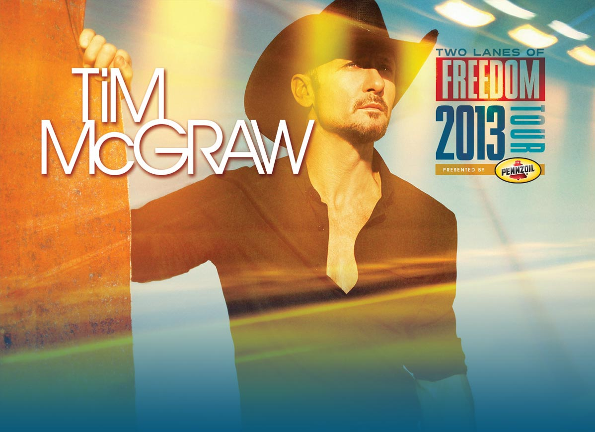 Tim McGraw: Two Lanes of Freedom 2013 Tour
