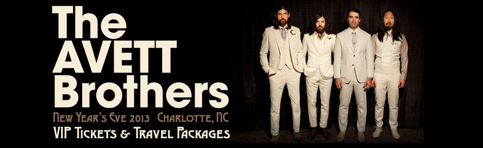 The Avett Brothers New Year's Eve 2013