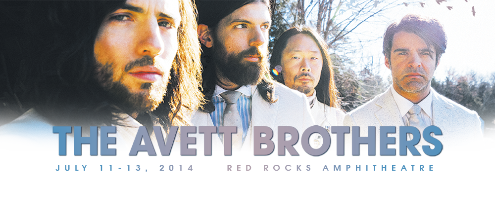 The Avett Brothers Red Rocks 2014