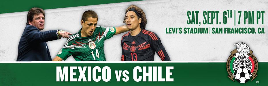 Federación Mexicana de Fútbol – Mexico vs. Chile