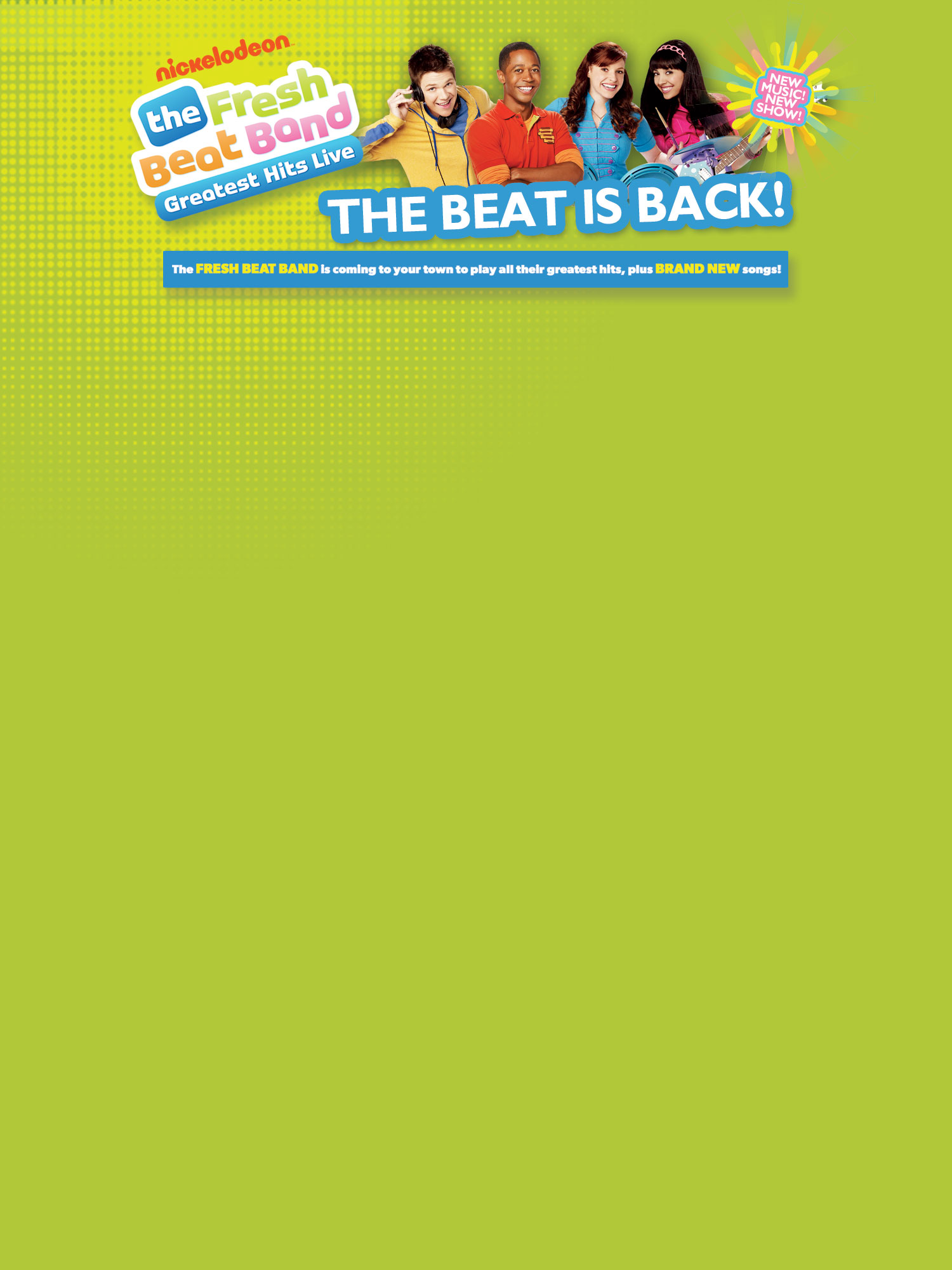 The Fresh Beat Band: Greatest Hits Live