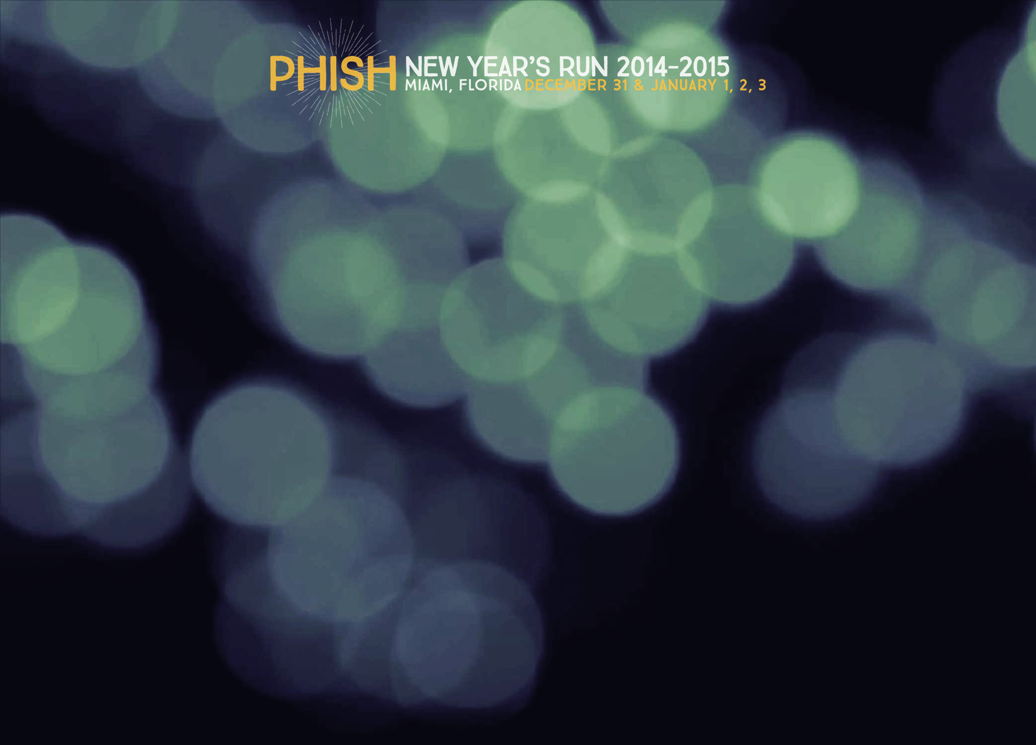 Phish New Year's Run 2014-2015