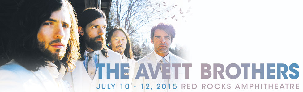 The Avett Brothers Red Rocks 2015
