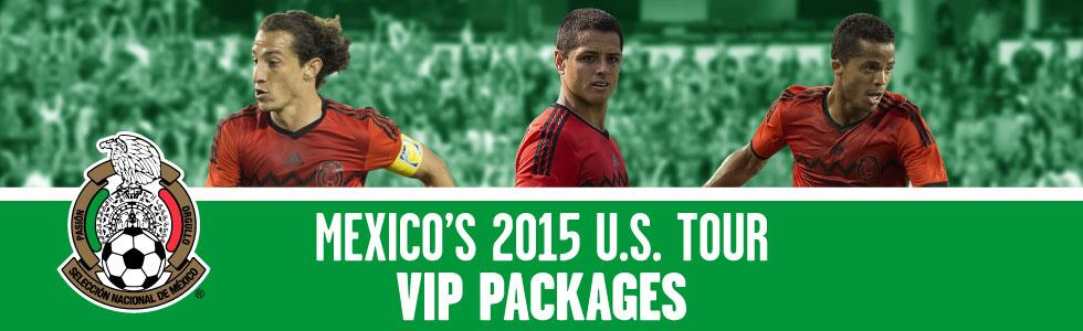 Federación Mexicana de Fútbol 2015 U.S. Tour