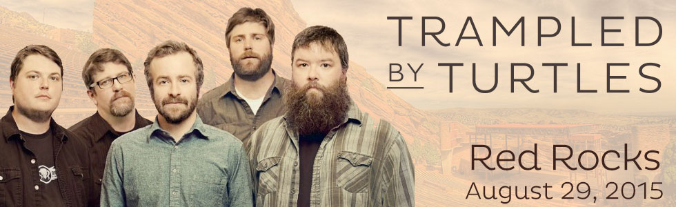 Trampled By Turtles Red Rocks 2015