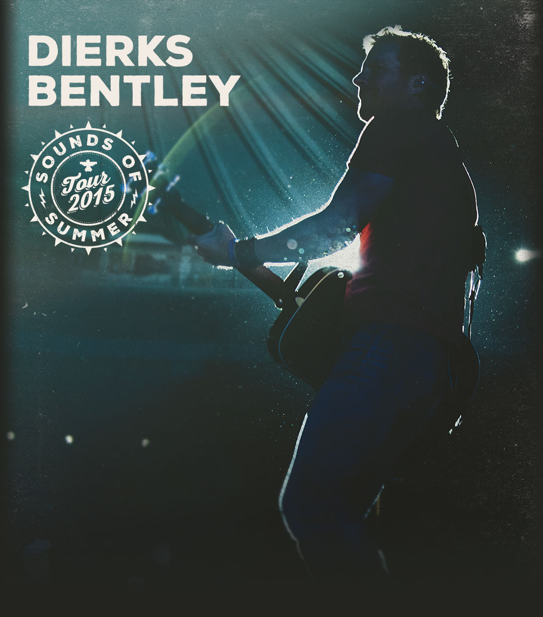 Dierks Bentley Concert Tickets: Dierks Bentley Sounds Of Summer Tour 2015
