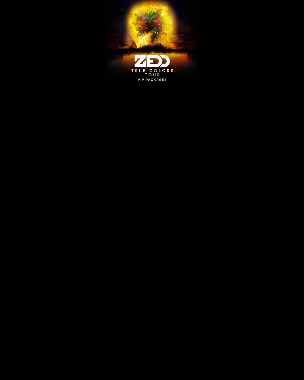 Zedd True Colors Tour: VIP