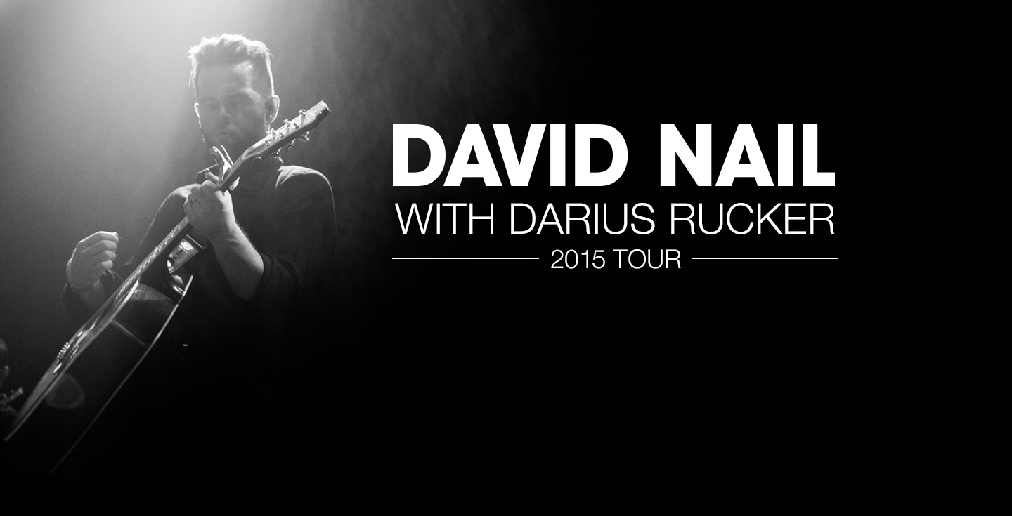 David Nail With Darius Rucker Tour 2015 Cid Entertainment