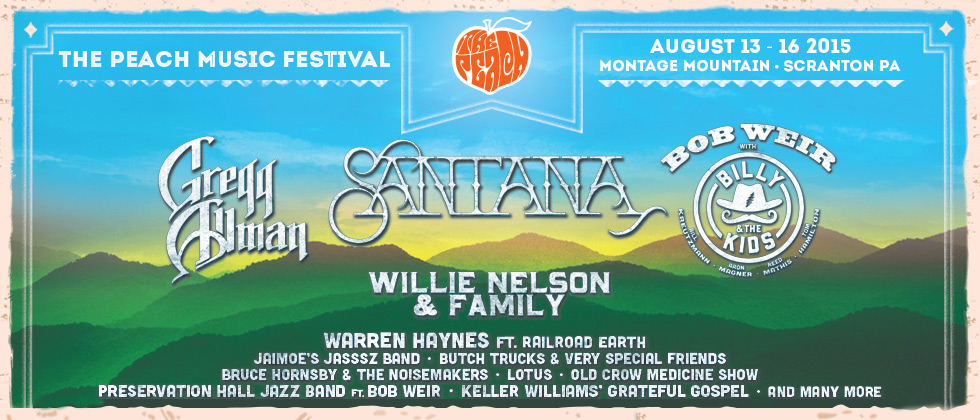 The Peach Music Festival 2015