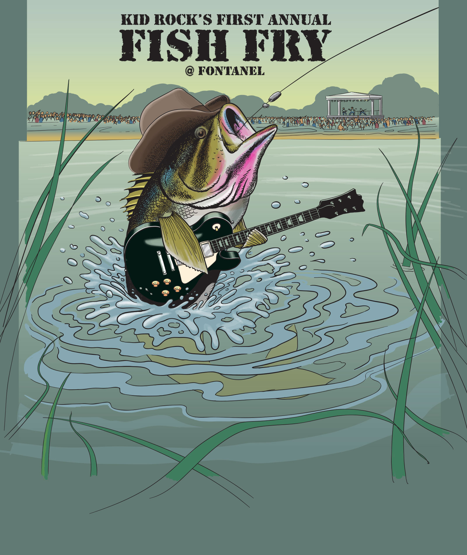 Kid Rock's 1st Annual Fish Fry at Fontanel