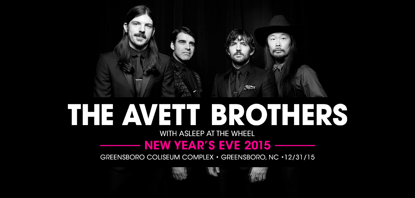 The Avett Brothers New Year's Eve 2015