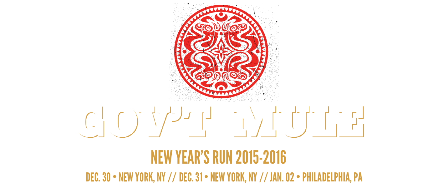 Gov't Mule New Year's Eve 2015-2016