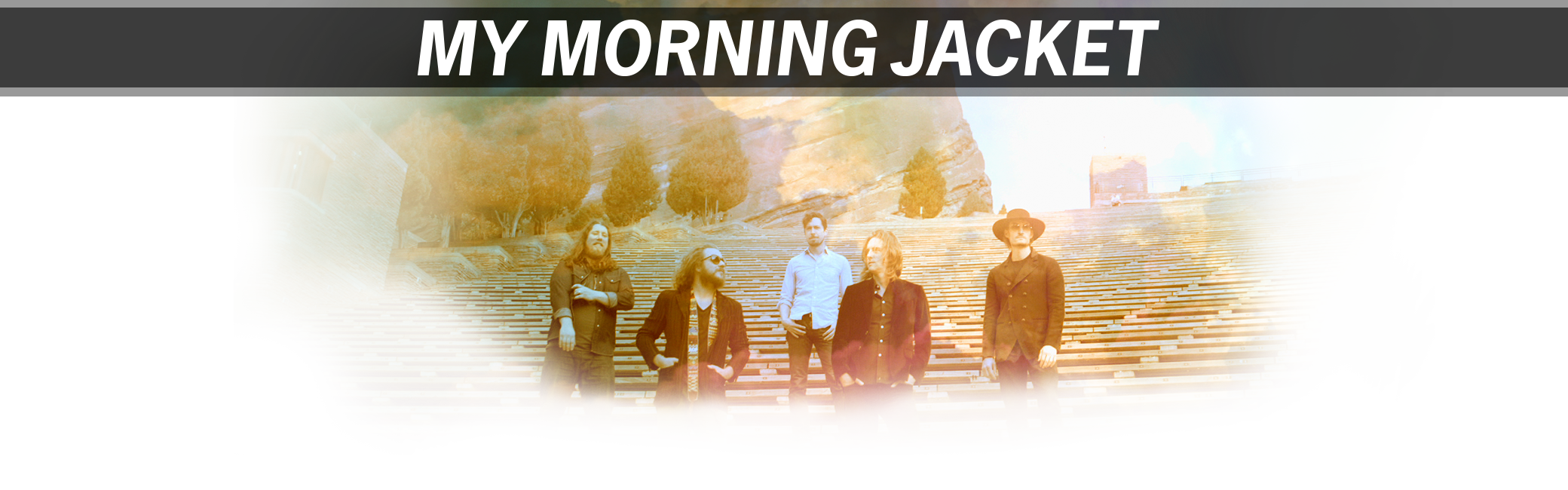 My Morning Jacket at Red Rocks 2016