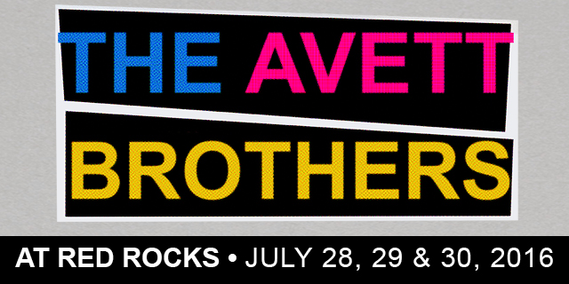The Avett Brothers at Red Rocks 2016