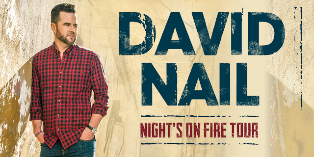 David Nail Night's On Fire Tour 2016