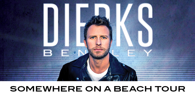Dierks Bentley Somewhere On a Beach Tour