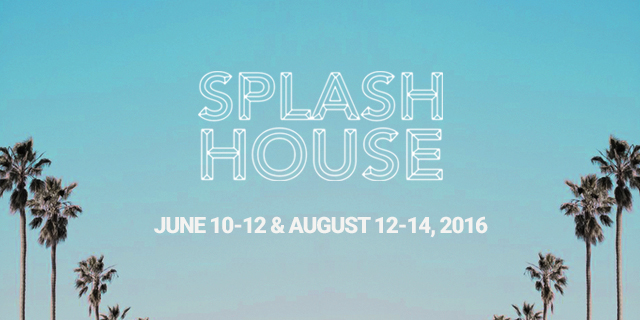 Splash House 2016