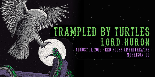 Trampled By Turtles at Red Rocks 2016