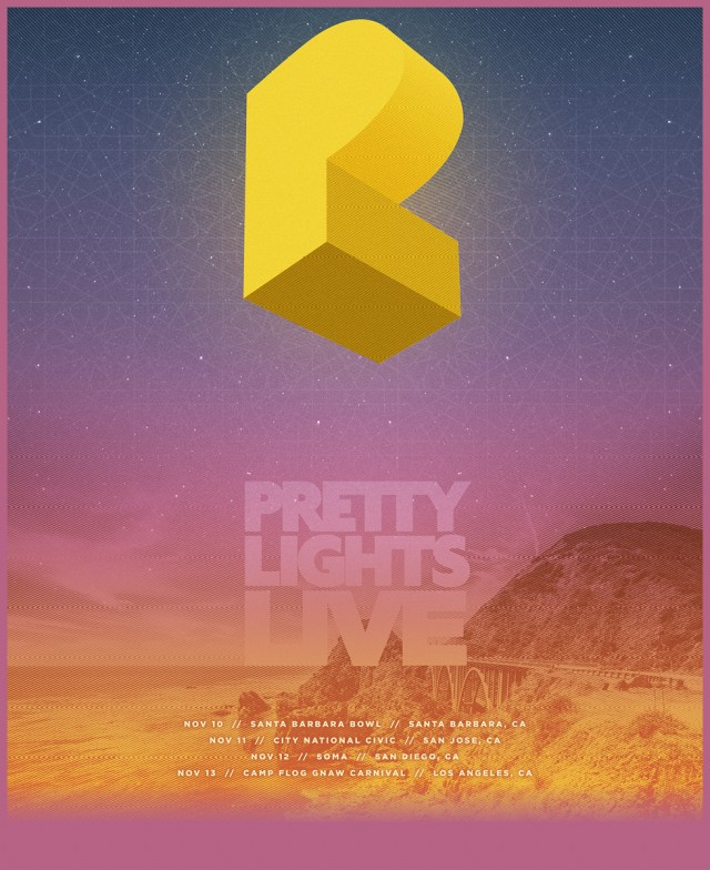 Pretty Lights Live California – Curaodra