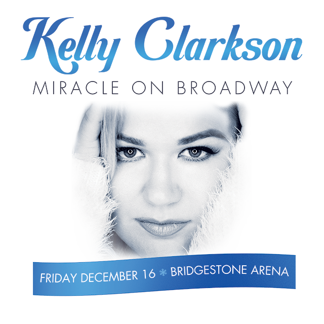 Kelly Clarkson's Miracle on Broadway 2016