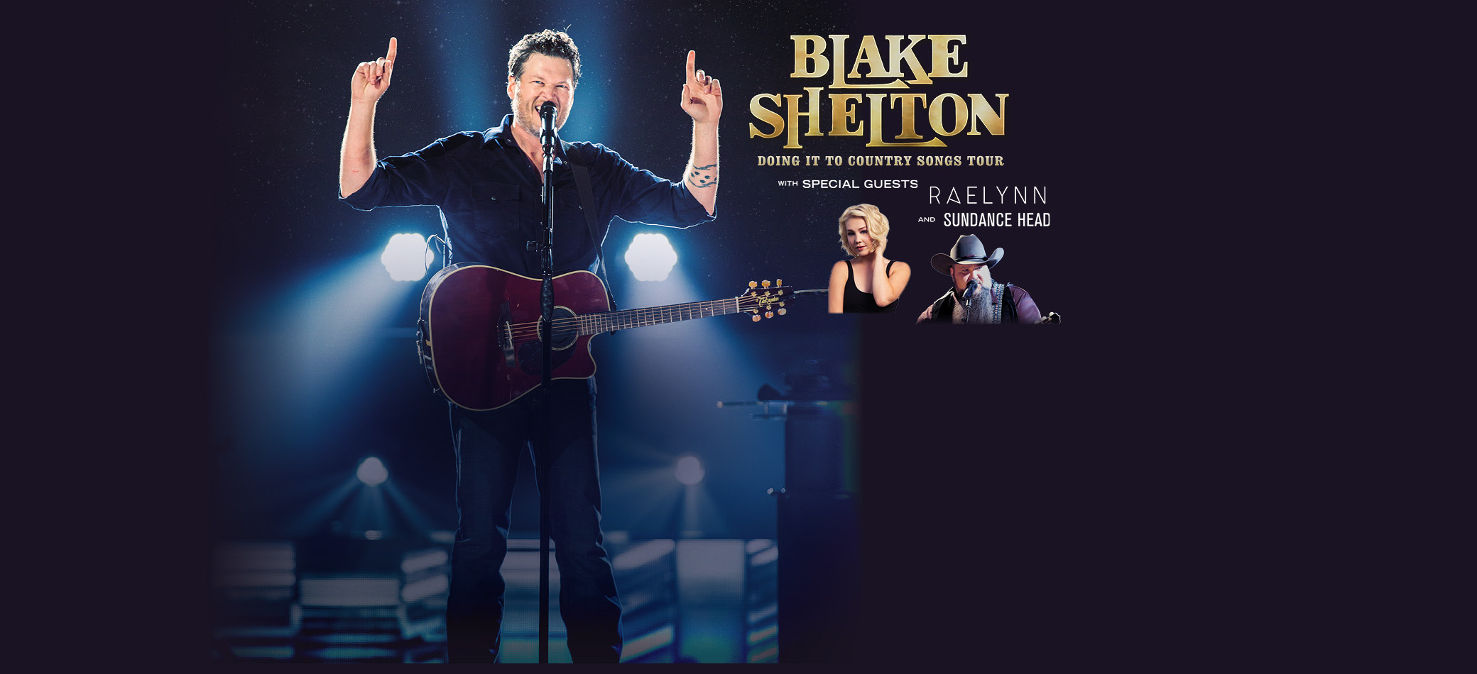 Blake Shelton Doing It To Country Songs Tour 2017
