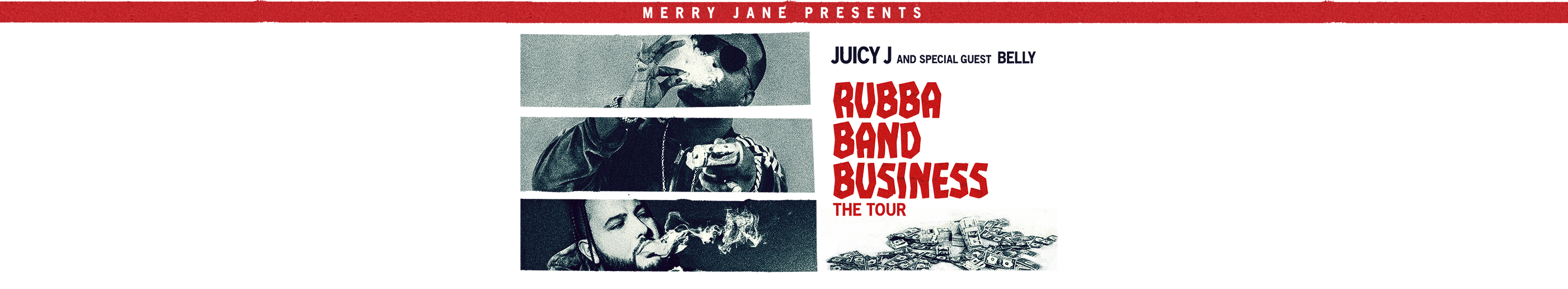 Juicy J Rubba Band Business: The Tour