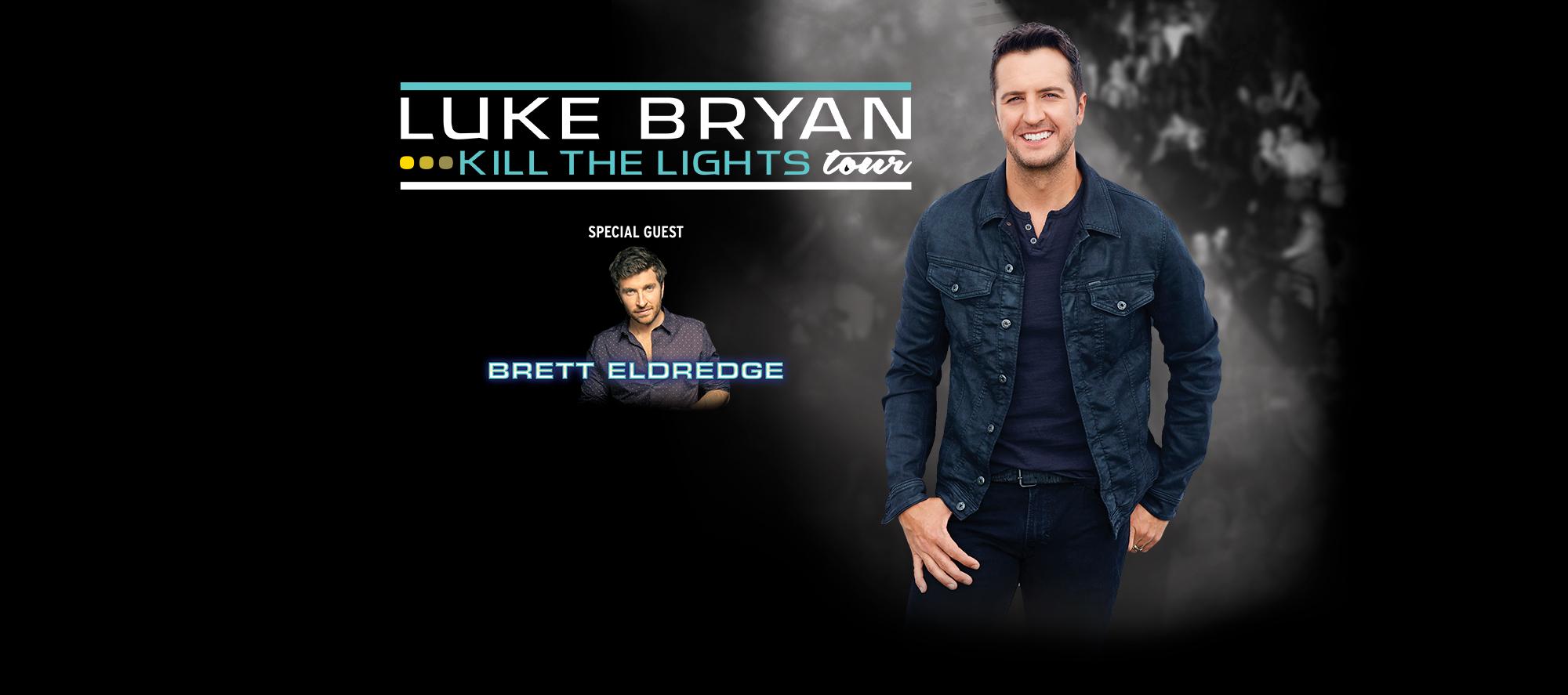 Luke Bryan Kill the Lights Tour 2017