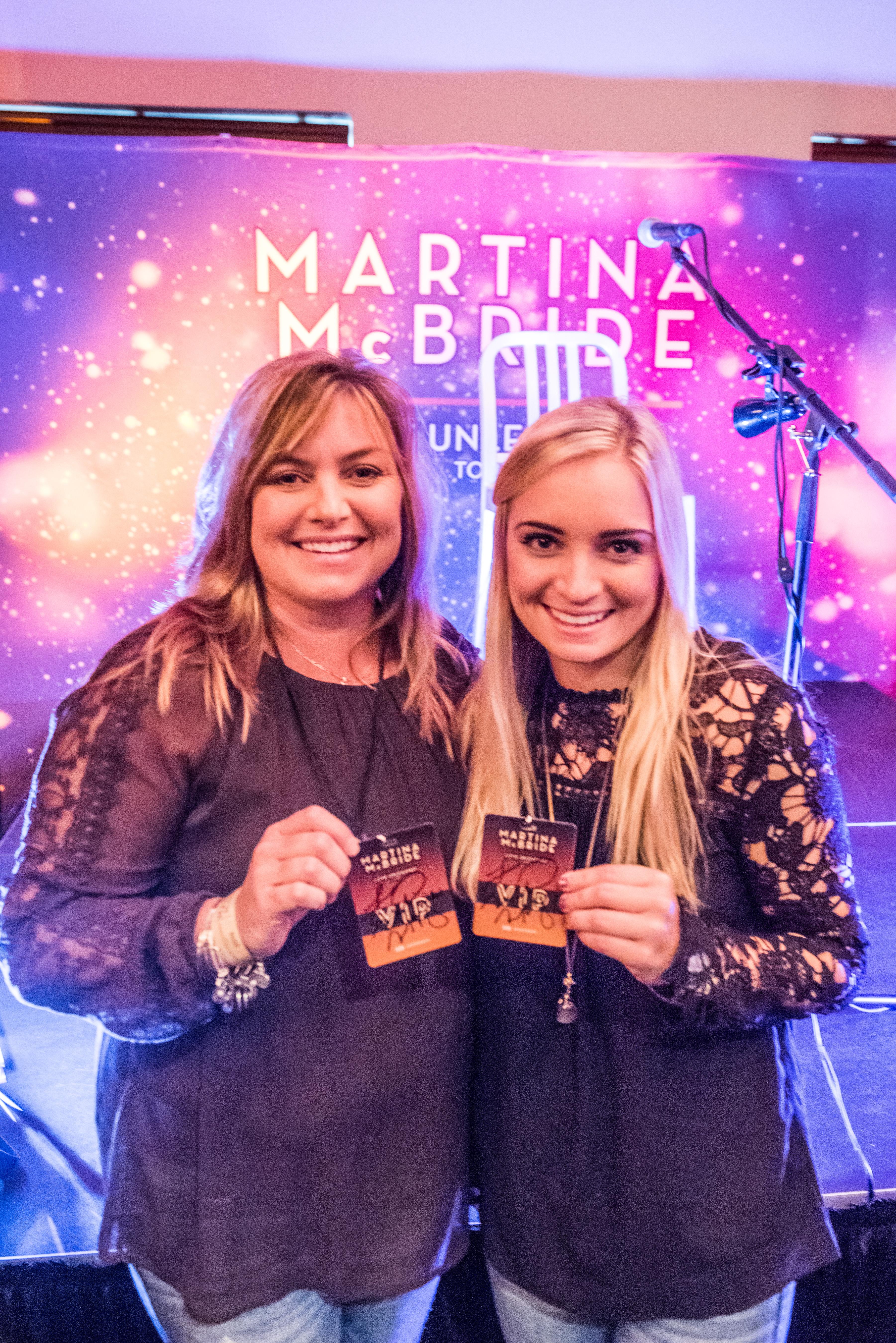Martina Mcbride Fan Experiences