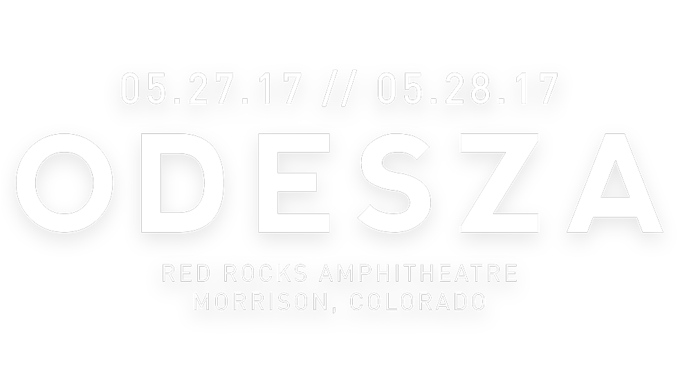 ODESZA at Red Rocks 2017