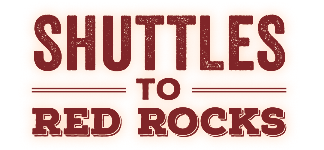 Shuttles to Red Rocks 2018