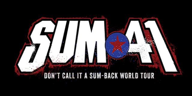 Sum41 European Tour