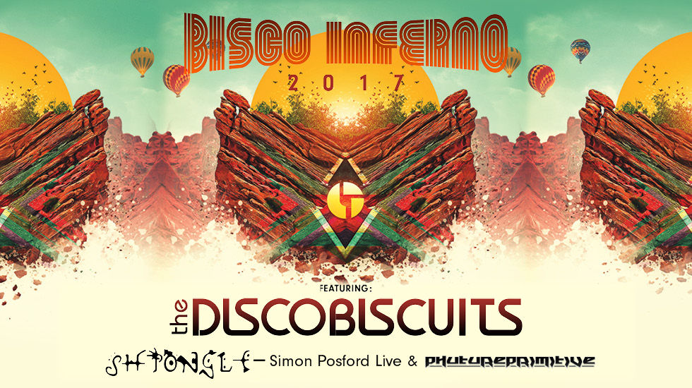 The Disco Biscuits at Red Rocks 2017