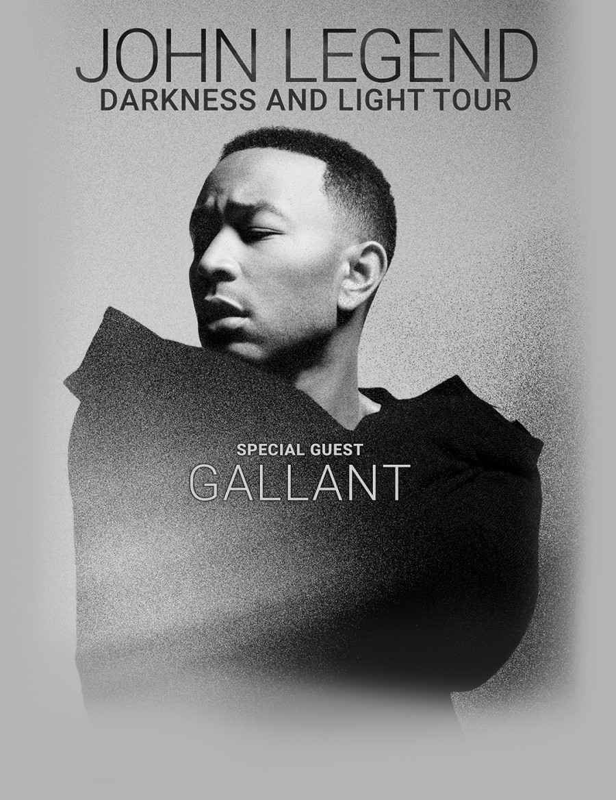John Legend Darkness and Light Tour 2017