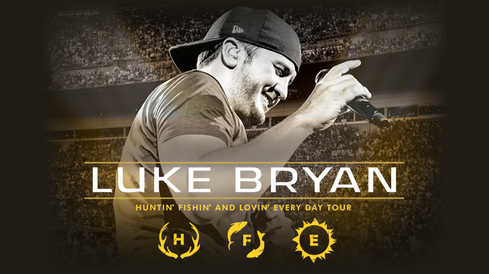Luke Bryan Huntin' Fishin' and Lovin' Every Day Tour 2017