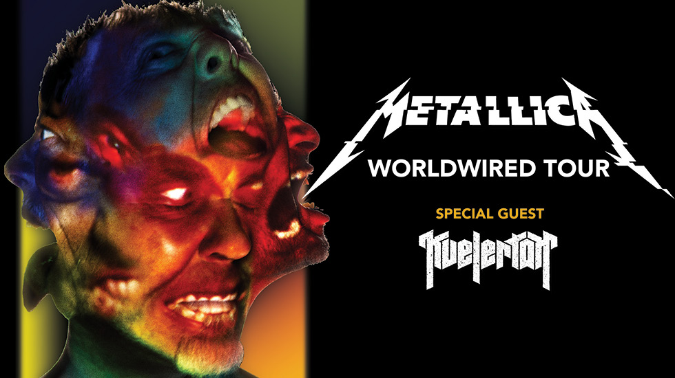 Metallica WorldWired European Tour 2018