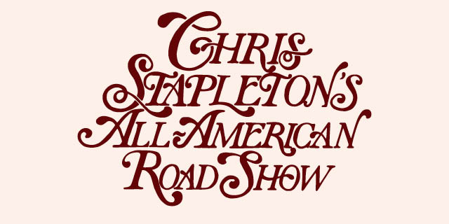 Chris Stapleton 2017 Tour