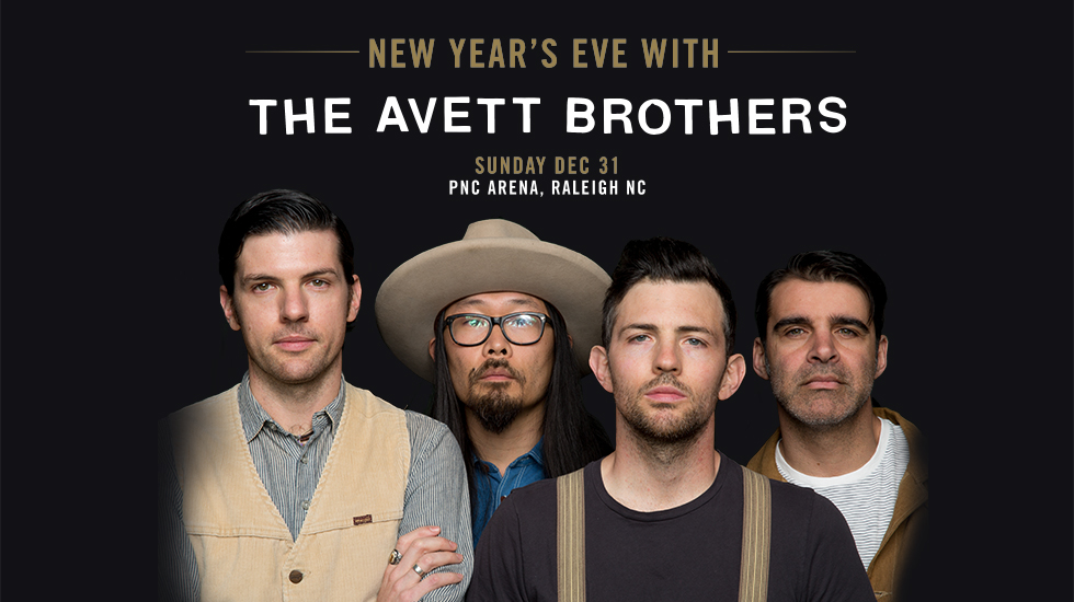 The Avett Brothers New Year's Eve 2017