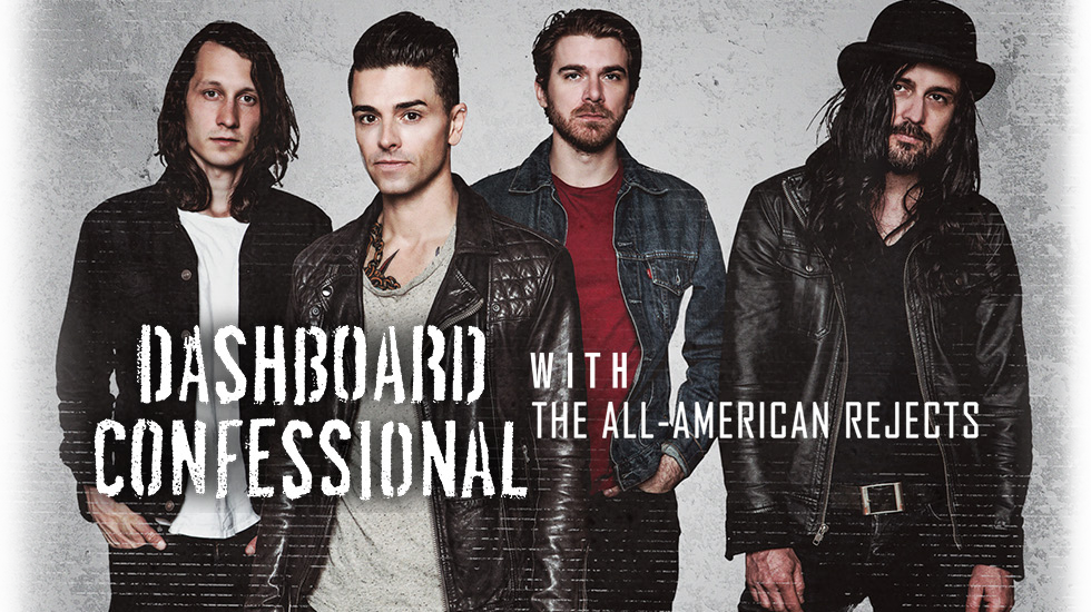 Dashboard Confessional Tour 2017