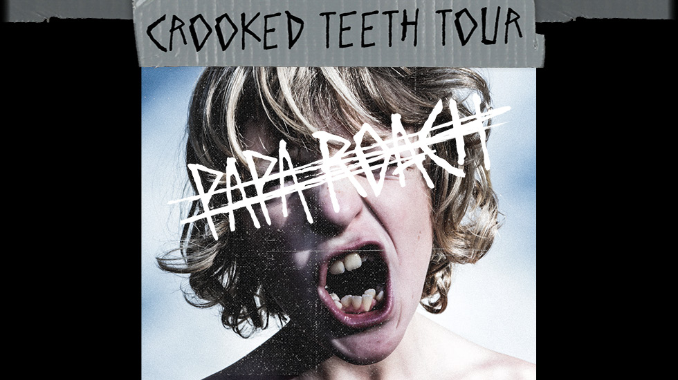Papa Roach Crooked Teeth Tour 2018