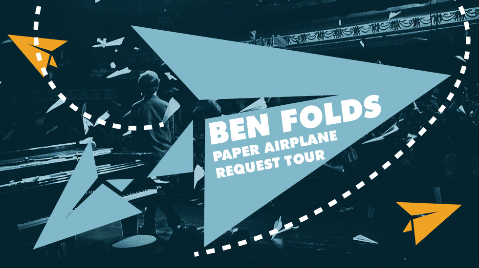 Ben Folds Paper Airplane Request Tour