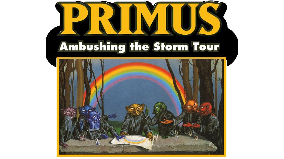 Primus Ambushing The Storm Australian Tour 2018