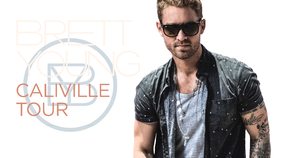 Brett Young Fall Tour 2017