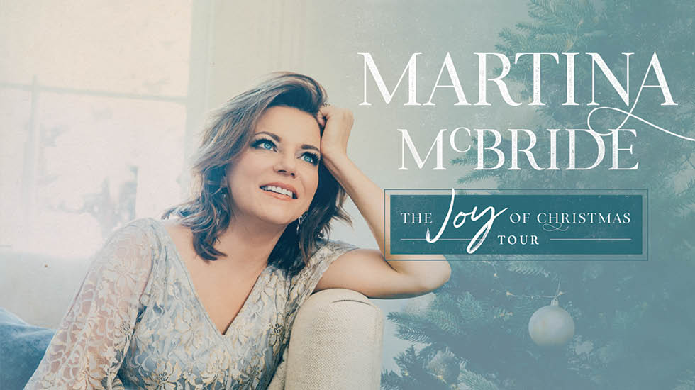 Martina McBride The Joy of Christmas Tour 2017