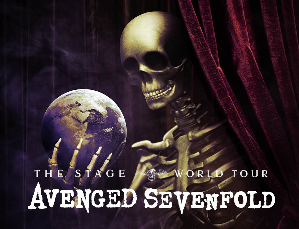 Avenged Sevenfold The Stage World Tour 2018 - CID Entertainment