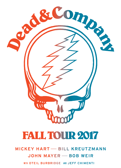 dead and company fall tour 2017 cid entertainment. Black Bedroom Furniture Sets. Home Design Ideas